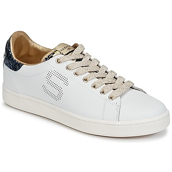 Shoes Women Low top trainers Serafini J.CONNORS White / Blue / Gold
