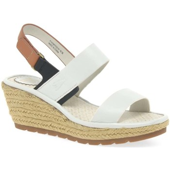 Fly London  Ekan Womens Espadrilles  womens Espadrilles  Casual Shoes in white