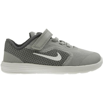 Shoes Children Low top trainers Nike Revolution 3 Tdv Grey-White