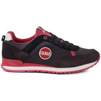 Shoes Women Low top trainers Colmar Travis Black-Red