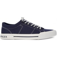 Shoes Men Low top trainers Tommy Hilfiger Tommy Hilfigher Harmouth Black