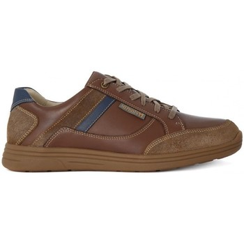 Shoes Men Low top trainers Mephisto Frank Washed Brown