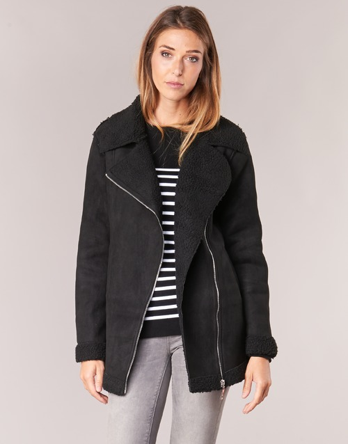 Clothing Women Coats Betty London HARMI Black