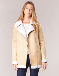 Clothing Women Coats Betty London HARMI Beige