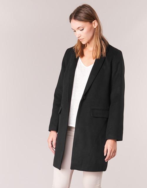 Clothing Women coats Betty London HODISSE Black