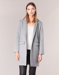 Clothing Women coats Betty London HODISSE Grey