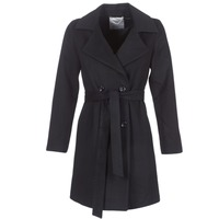 Clothing Women coats Casual Attitude HALLOA Black