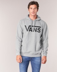 Clothing Men sweaters Vans VANS CLASSIC PULLOVER HOODIE Grey