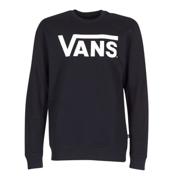 Clothing Men sweaters Vans VANS CLASSIC CREW Black