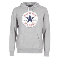 Clothing Men sweatpants Converse CORE GRAPHIC PULLOVER HOODIE Grey