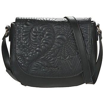 Bags Women Shoulder bags Desigual BOLS_VARSOVIA LOTTIE Black