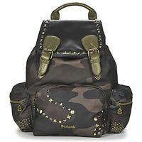 Bags Women Rucksacks Desigual BOLS_VANCOUVER  MILITARY STUDS Camo