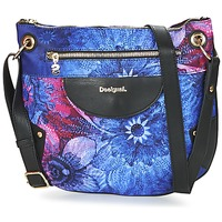 Bags Women Shoulder bags Desigual BOLS_BROOKLYN CARLIN Black / Blue