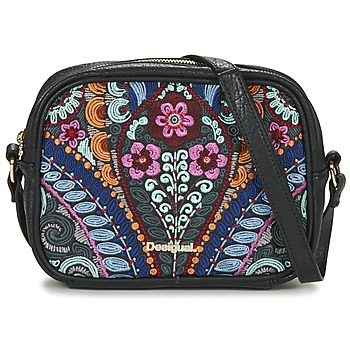 Bags Women Shoulder bags Desigual BOLS_CHARLOTTE  PIKA Black / Multicoloured