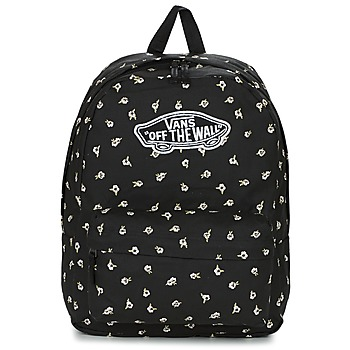 Bags Women Rucksacks Vans REALM BACKPACK Black / White