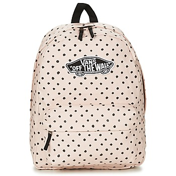 Bags Women Rucksacks Vans REALM BACKPACK Pink / Pale