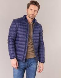 Clothing Men Duffel coats Vicomte A. DOUDOUNE HOMME MANCHES LONGUES NAVY Marine