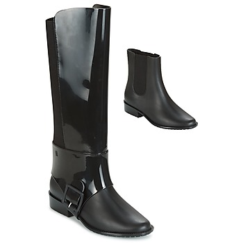 Shoes Women High boots Melissa RIDING II AD. Black