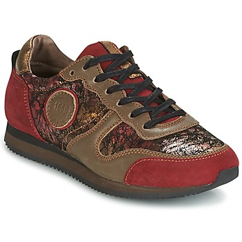 Shoes Women Low top trainers Pataugas IDOL Red / Brown