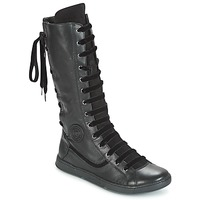 Shoes Women High boots Pataugas JINA Black