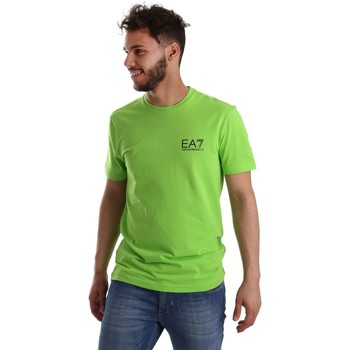 Emporio Armani EA7  3YPT52 PJ03Z Tshirt Man  mens T shirt in green