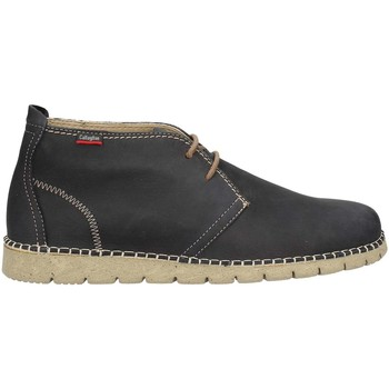 Shoes Men Mid boots CallagHan 84700 Ankle Man Blue Blue