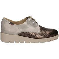 Shoes Women Derby Shoes CallagHan 89824 Lace-up heels Women Grey Grey