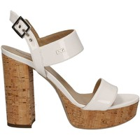 Shoes Women Sandals Nero Giardini P717860DE High heeled sandals Women White White