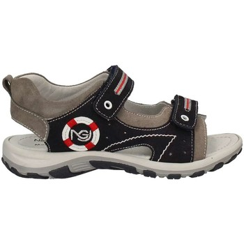 Shoes Children Sandals Nero Giardini P734261M Sandals Kid Grey Grey