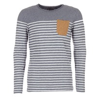 Clothing Men Long sleeved tee-shirts Le Temps des Cerises VINCENT Grey