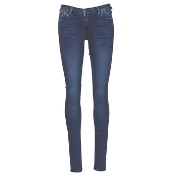 Clothing Women Skinny jeans Le Temps des Cerises ULTRAPOWER Blue / MEDIUM