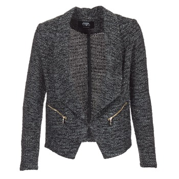 Clothing Women Jackets / Blazers Le Temps des Cerises DARLA Grey