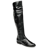 Shoes Women Thigh boots So Size HOLA Black