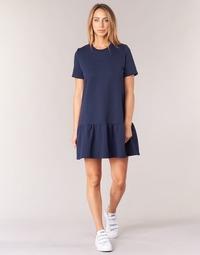 Clothing Women Short Dresses Betty London HOMA Marine