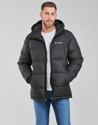 Clothing Men Duffel coats Columbia PIKE LAKE HOODED JACKET Black