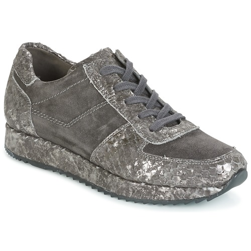Shoes Women Low top trainers Perlato TINA Grey