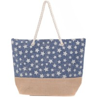 Bags Women Shopping Bags / Baskets Mora Mora Sac ALLSTARS Bleu Blue