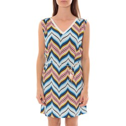 Clothing Women Short Dresses By La Vitrine Robe Lili & Lala  Bleu Blue