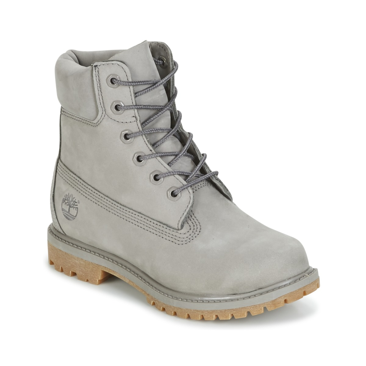 24243b1585 Timberland 6IN PREMIUM BOOT - W Grey - Free delivery
