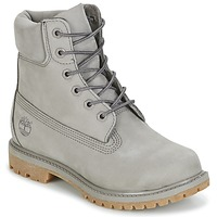 Shoes Women Mid boots Timberland 6IN PREMIUM BOOT - W Steeple / GREY / Waterbuck / Monochromatic