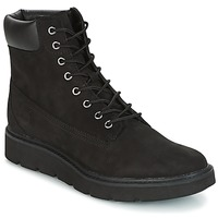 Shoes Women Mid boots Timberland KENNISTON 6IN LACE UP BOOT  black / Nubuck /  black / Out