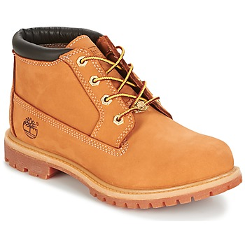 Shoes Women Ankle boots Timberland Nellie Chukka Double Wheat / Nubuck / With /  black / Collar