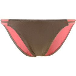 Clothing Women Bikini Separates Kiwi Brown and Pink Swimsuit Panties Reversible Bicolore BROWN