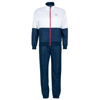 Clothing Men Tracksuits Sergio Tacchini LACKSON TRACKSUIT Marine / White