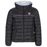 Clothing Men Duffel coats Sergio Tacchini ELBOW JACKET Black