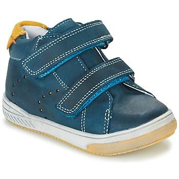Shoes Boy Hi top trainers Babybotte ANTILLES Blue