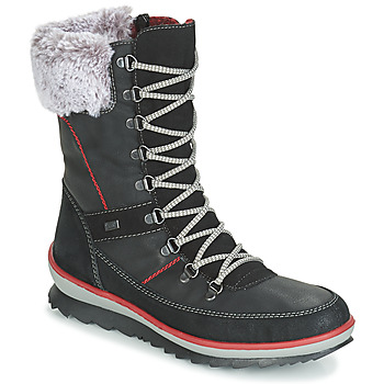 Shoes Women Snow boots Rieker BISKA Black