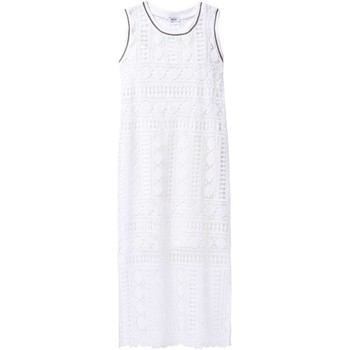 Clothing Women Long Dresses Liu Jo F17254T9887 Dress Women White White
