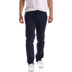 Clothing Men 5-pocket trousers Navigare NV55018 Trousers Man Blue Blue
