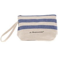 Bags Women Pouches / Clutches Mora Mora Pochette MARINETTA  Bleu Blue